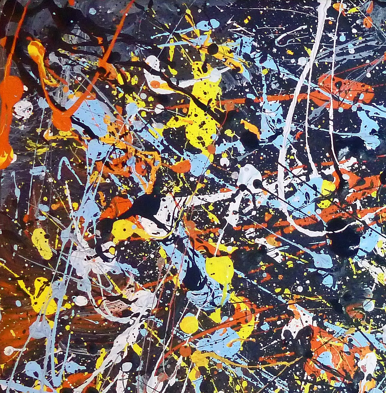 Some Of The Abstract Expressionist Painted Representational Images