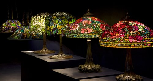 Photo: Tiffanyu0027s Favrile Lamps. Louis Comfort Tiffany ...